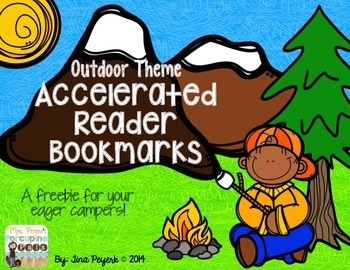 Outdoor Theme Accelerated Reader Bookmarks