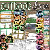 Outdoor Theme Classroom Decoration Bundle (Camping, Woodland Animals, Owls)