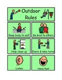 Outdoor play visual rules