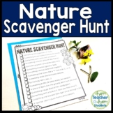 Nature Scavenger Hunt: Students LOVE this Outdoors Scaveng