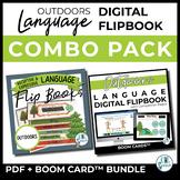 Outdoors Receptive & Expressive Language Flipbooks - PDF +
