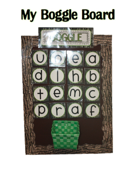 Outdoors/Camping Themed BOGGLE pack!