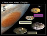 Planets Quiz Game, Jupiter, Saturn, Uranus, Neptune