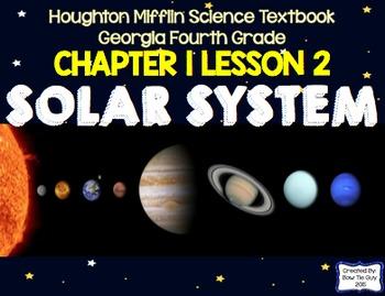 Solar System (Houghton Mifflin 4th Grade Science Chapter 1 Bundle
