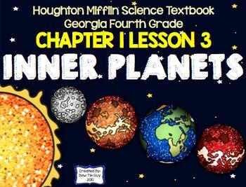 Solar System (Houghton Mifflin 4th Grade Science) Chapter 1 Bundle