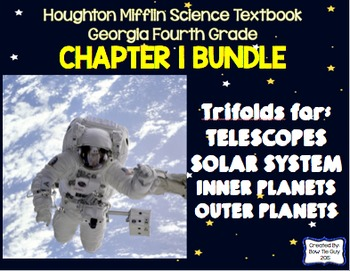Solar System (Houghton Mifflin 4th Grade Science Chapter 1 Bundle