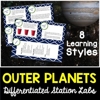 Outer Planets Student-Led Station Lab