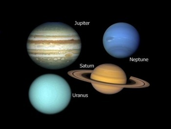 Solar System: Outer Planets PowerPoint Presentation