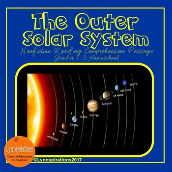 Outer Solar System Reading Comprehension Activity