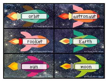 Outer Space ABC Order
