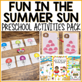 Fun in the Sun Activities for Pre-K, Preschool and Tots