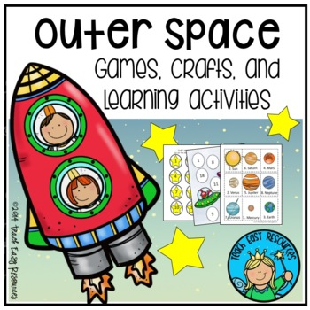Outer Space Activities for Preschool and Kindergarten - Teach Easy Resources
