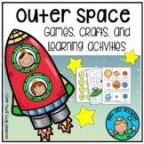 Outer Space Activities for Preschool and Kindergarten