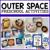 Outer Space Activities for Pre-K, Preschool and Tots