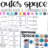 Outer Space Adapted Book & Comprehension for Special Education