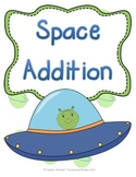 Outer Space Addition Mats - Decomposing Numbers
