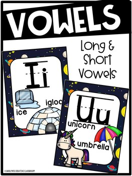 Outer Space Alphabet Posters - Space Decor
