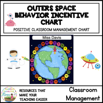 Outer Space Around the Universe Behavior or Reward Chart