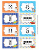 Outer Space Astronaut Numbers 1-10 Match Activity