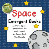 Outer Space Books Editable and Personalized