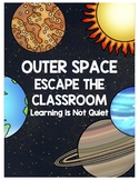 Outer Space Break out of the Classroom (Escape Room)