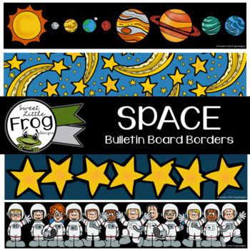 Outer Space Bulletin Board Borders