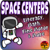 Outer Space Centers Activities Games Literacy Math Fine Mo