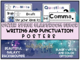 Outer Space Classroom Decor- Writing and Punctuation Posters