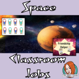 Outer Space Classroom Jobs Display