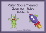 Outer Space Classroom Rules Posters