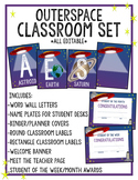 Outer Space Classroom Set **Editable**