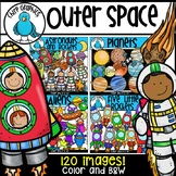Outer Space Clip Art Bundle - Chirp Graphics