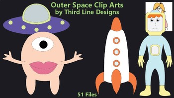 Outer Space Clip Arts