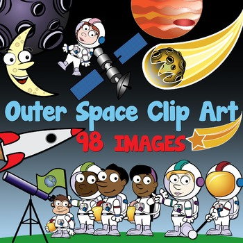 Outer Space Clipart Kids