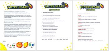 Outer Space- Comprehension