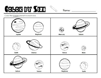 Outer Space Unit of Study {CCSS ELA & Math Aligned} Kindergarten & 1st Grade