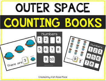 Outer Space Counting Books (Adapted Books)