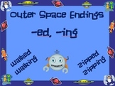 Outer Space Endings -ed and -ing