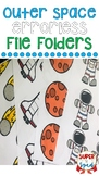 Outer Space Errorless File Folders for Special Education
