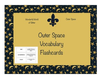 Outer Space Flash Cards