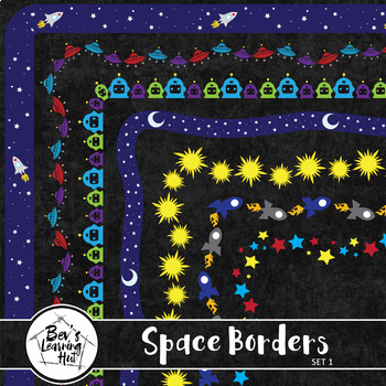 Space Borders - Set 1