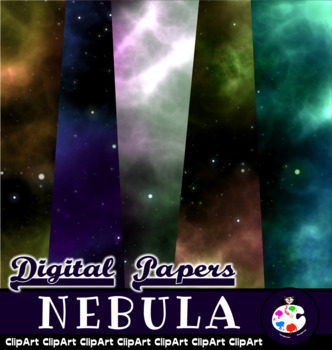 Outer Space Galaxy Background Papers