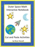 Outer Space Math and Literacy Cut and Paste Distance Learn