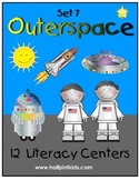 Outer Space Literacy Centers: Half-Pint Readers Set 7