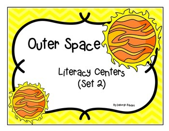 Outer Space Literacy Centers (Set 2)