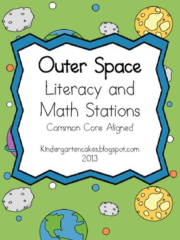 Outer Space Literacy and Math Stations