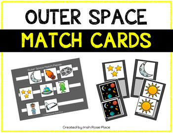 Outer Space Match Cards
