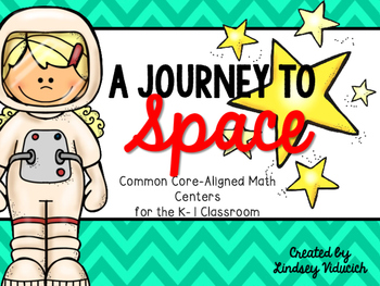 Outer Space Math Centers