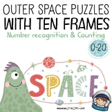 Outer Space Math – Number Recognition and Counting for preschool - kindergarten