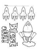 Outer Space Math Worksheet 1-5